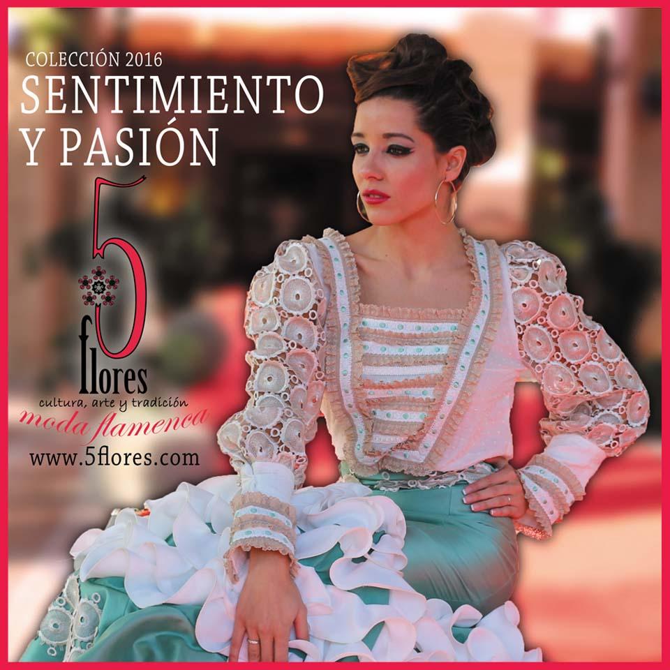 77a41b61c Desfile de Trajes de Flamenca 5Flores en el Teatro Romea de Murcia ...