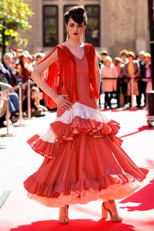 Traje de Flamenca modelo SM1919