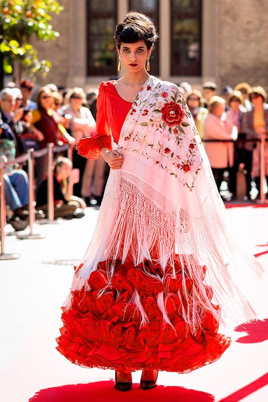 Traje de Flamenca modelo SM1920
