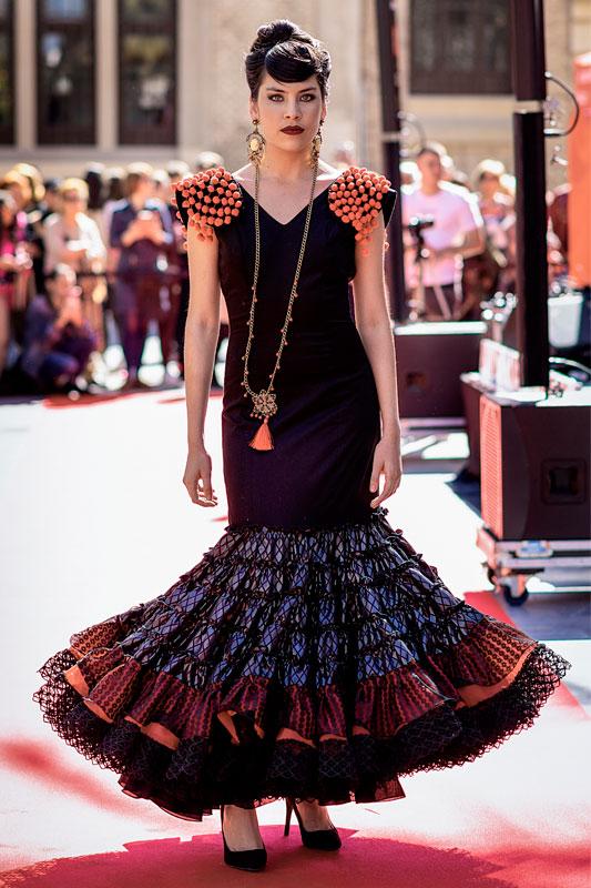 Traje de Flamenca modelo SM1921
