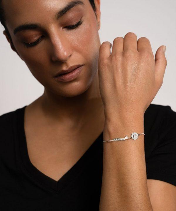 pulsera plata c101/bücker
